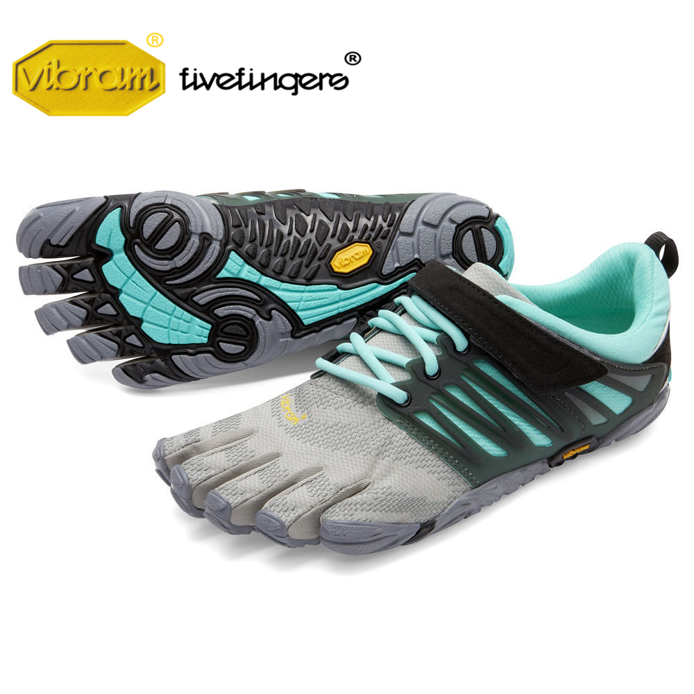 Vibram Fivefingers V-TRAIN Women's Shoes Fitness Squat Training Running Sports Five Fingers Gym Five-toed Sneakers