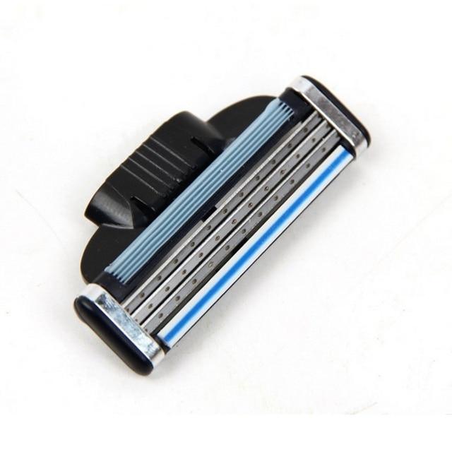 8 шт./компл. острая Мужская бритва лезвие высокого качества сменные лезвия для бритвы Для мужчин 3 лезвенные кассеты лезвия совместимый Gillettee Mache 3