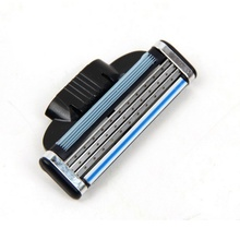 8pcs/set Men Shaving Razor Blade High Quality Blades 3 Layers Compatible Gillettee Mache