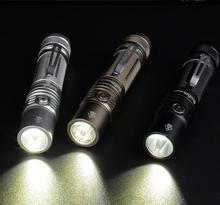 Sofirn SP32A V2.0 HA CONDOTTO LA Torcia Elettrica del Cree XPL2 Potente 1300lm Luce Della Torcia EDC Torcia Elettrica 18650 con DTP PCB Indicatore di Alimentazione Rampa