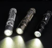 Sofirn-torche électrique SP32A V2.0 lampe de poche LED Cree XPL2, lampe de poche EDC 18650 avec DTP PCB, indicateur de puissance de rampage