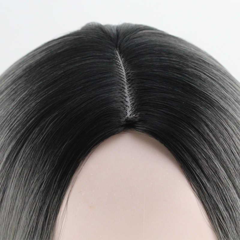 JOY & BEAUTY боб парик 12 дюймов Синтетические волосы термостойкие Омбре Золотой коричневый красный серый синий 16 цветов Короткие парики боб косплей парик