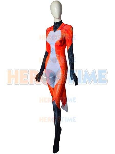 Custom Made Rena Rouge Ladybug Cat Noir Cosplay Costume 3D Print Halloween Party Zentai Suit Lycra