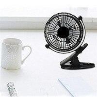 Portable Computer Fan2 Gear Rocker Switch Mini Desk Fan Clip on Quiet Flexible Table Fan USB Powered Cooling for PC Laptop