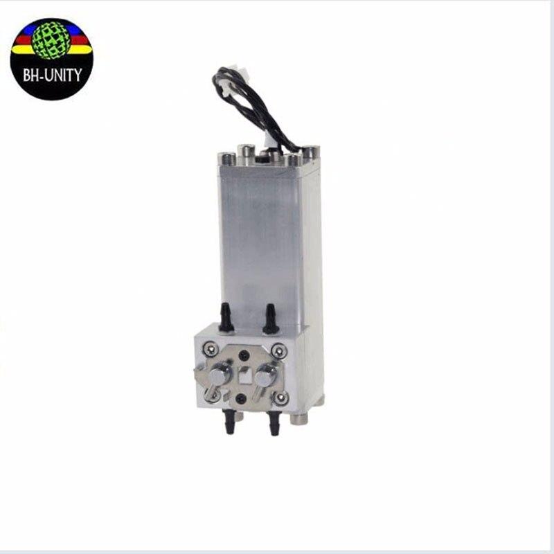 Inkjet Printer metal Sub Ink Tank Ink Box for Flora/polaris LJ3208K LJ320K LJ3208P LJ320P LJ3204P LJ520P 2512 UV ink cartridge flora printer lj320p 30cm printhead cable