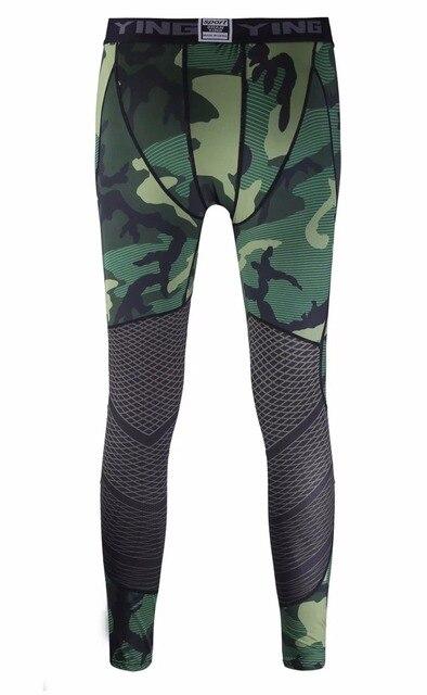 Camouflage Running Sets Men Sport Suit  3