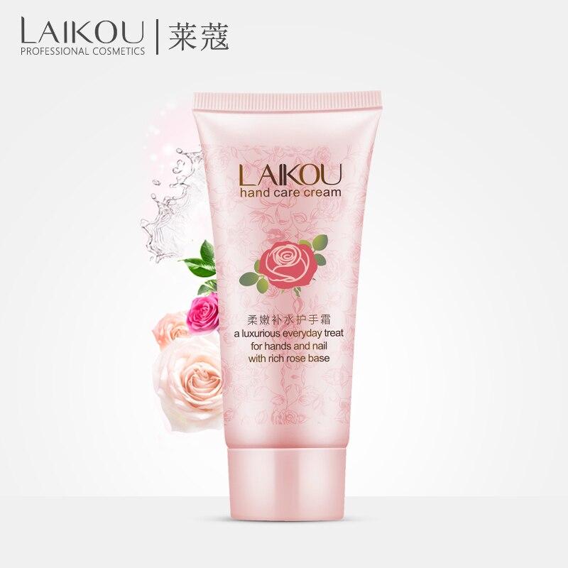 LAIKOU Hand font b Cream b font Hand Rose Essence Oil SkinCare Moisturizing Anti Aging Anti