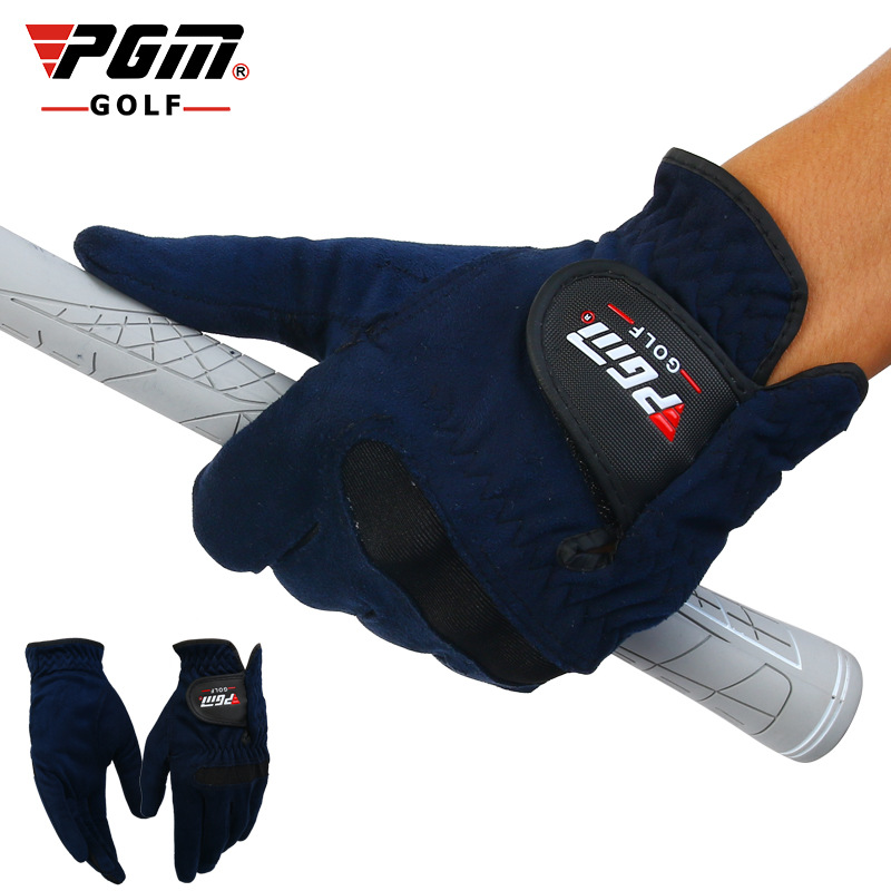 PGM Brand Mens Golf font b Gloves b font Male Summer Sweat Absorbent Microfiber Cloth Soft
