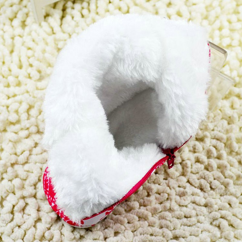 Warm Winter Baby Ankle Snow Boots