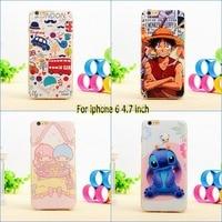 New Fashion Cute Cartoon Kitty Leopard Print Ultrathin Tpu Gel Silicon Case Cover For Iphone 6