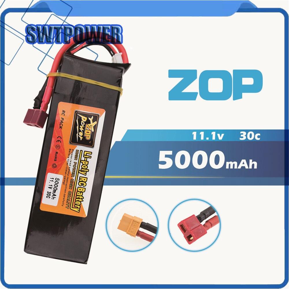 Zop RC Lipo 3 S 5000 mAh 11.1 v 30C RC LiPo Batterie Pour Télécommande Modèle Quadcopt