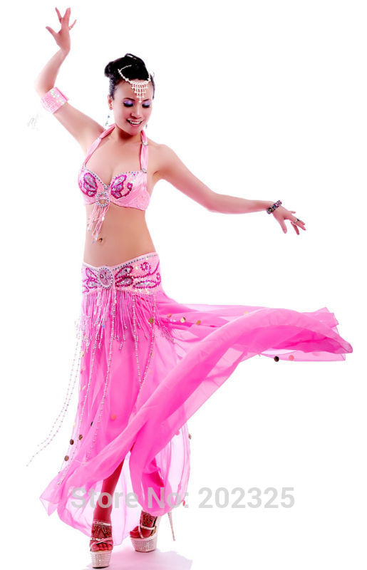 Free shipping High quality New design Belly dance suit ...