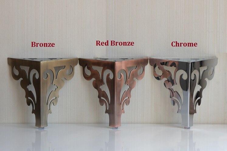4pcs Lot Premintehdw H15cm Furniture Bath Coffee Bar Sofa Chair Leg Legs Feet Flower Design With S In Cups From Home Improvement On