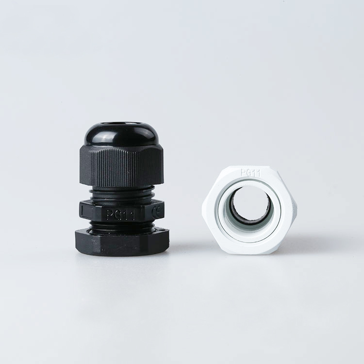 Hot Sale 10PCS PG11 Black Or White Plastic Connector Waterproof Cable Glands Ip68 China