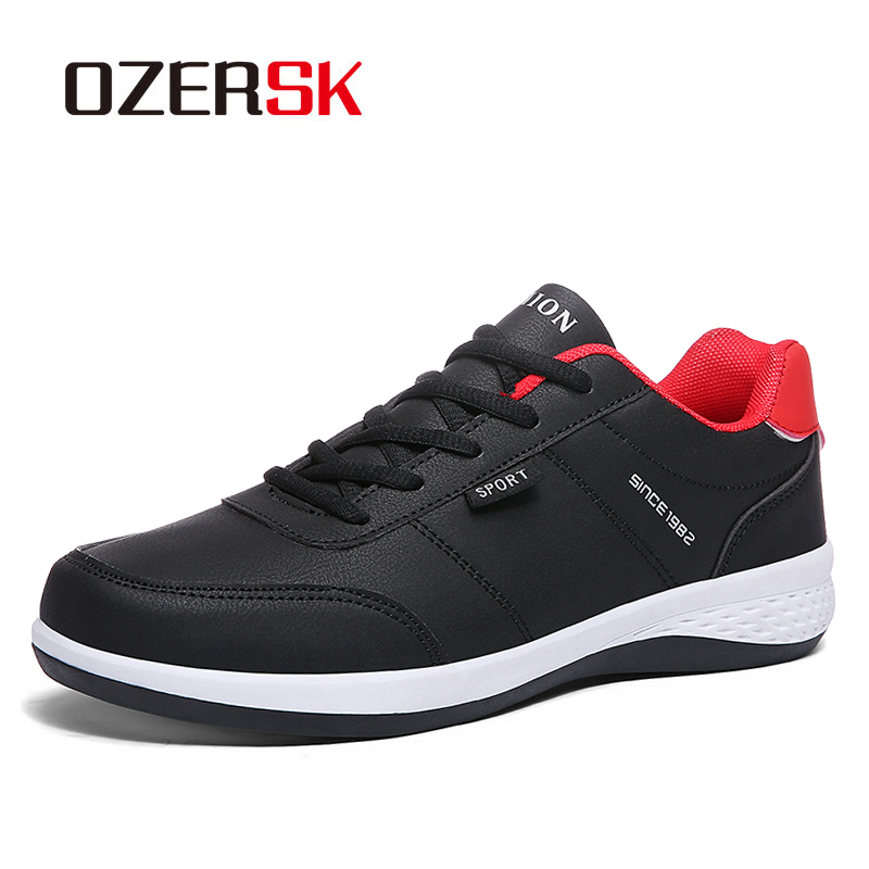 OZERSK Men Fashion Causal Comfortable Shoes Spring Autumn Leisure Sneakers Male Breathable High Quality Shoes Zapatos Hombre