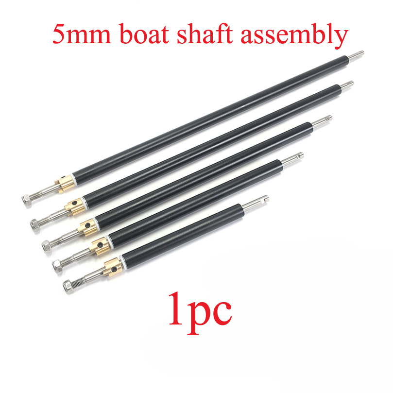 1PC RC Boat 5mm  Shaft Assembly Stainless Steel Drive  Kit  Hard Ing With  Sleeve  Model DIY Accessories
