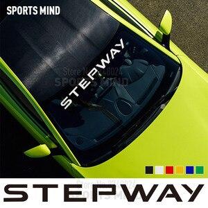 Pegatina para parabrisas de coche, calcomanía para automóviles, estilo de coche para Renault Dacia Duster Logan Lodgy Dokker Sandero Stepway, accesorios