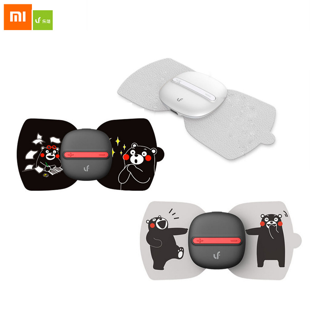 все цены на Xiaomi LF Brand Full Body Relax Muscle Therapy Electrical Massager With Massage 6 Stickers Magic Touch Massage For Office Worker