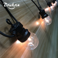 IP65 LED Clear Globe G50 Filament Light String Connectable Outdoor String Lights For Party Patio Christmas Wedding Garland Light