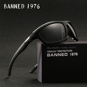 288141eab1 BANNED 1976 2018 HD Polarized Men women Sunglasses Goggles