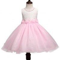 Summer Christmas flower girls dress wedding Lace girl Clothing princess dresses baby girl kids party dress for girl Age 6 7 8 10