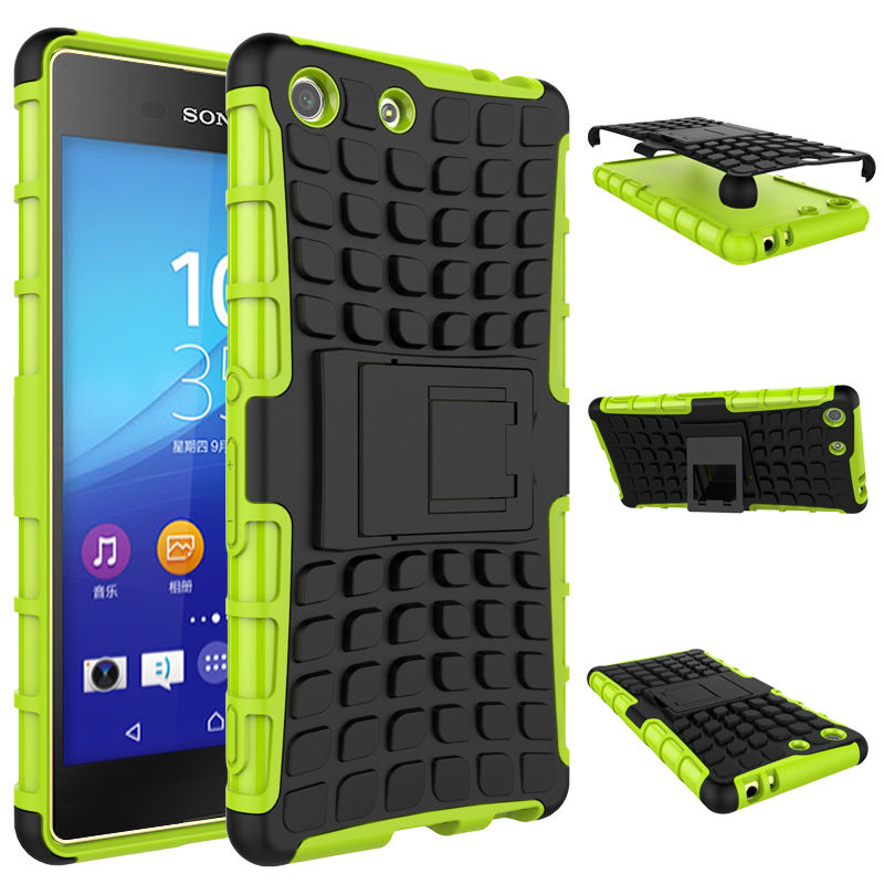 Rugged Armor Phone Case For Sony Xperia M5 Case For Sony Xperia M5 E5603 Shockproof Hard TPU Silicone Cover For Sony M5 Dual SIM