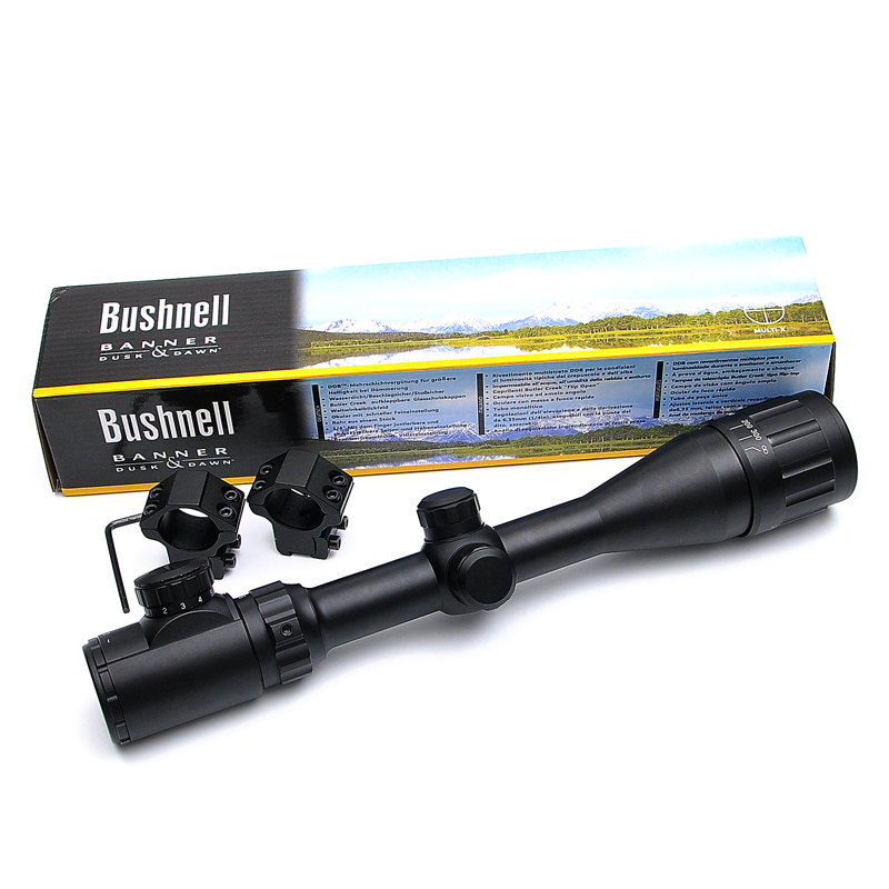 BUSHNELL 4-16X40 AOE Optics Riflescope Red&Green Dot Illuminated Sight Rifle Scope Sniper Gear For Hunting Scope Airsoft Rifle бинокль bushnell киев