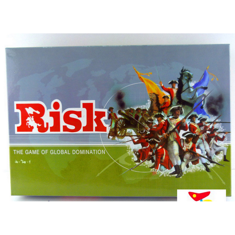 Risk For 2-6 Player Strategy Board Game Global Domination War Games Family Board Games With English Version Free Shipping board game risk 2nd version full english version high quality very suitable for the party and family