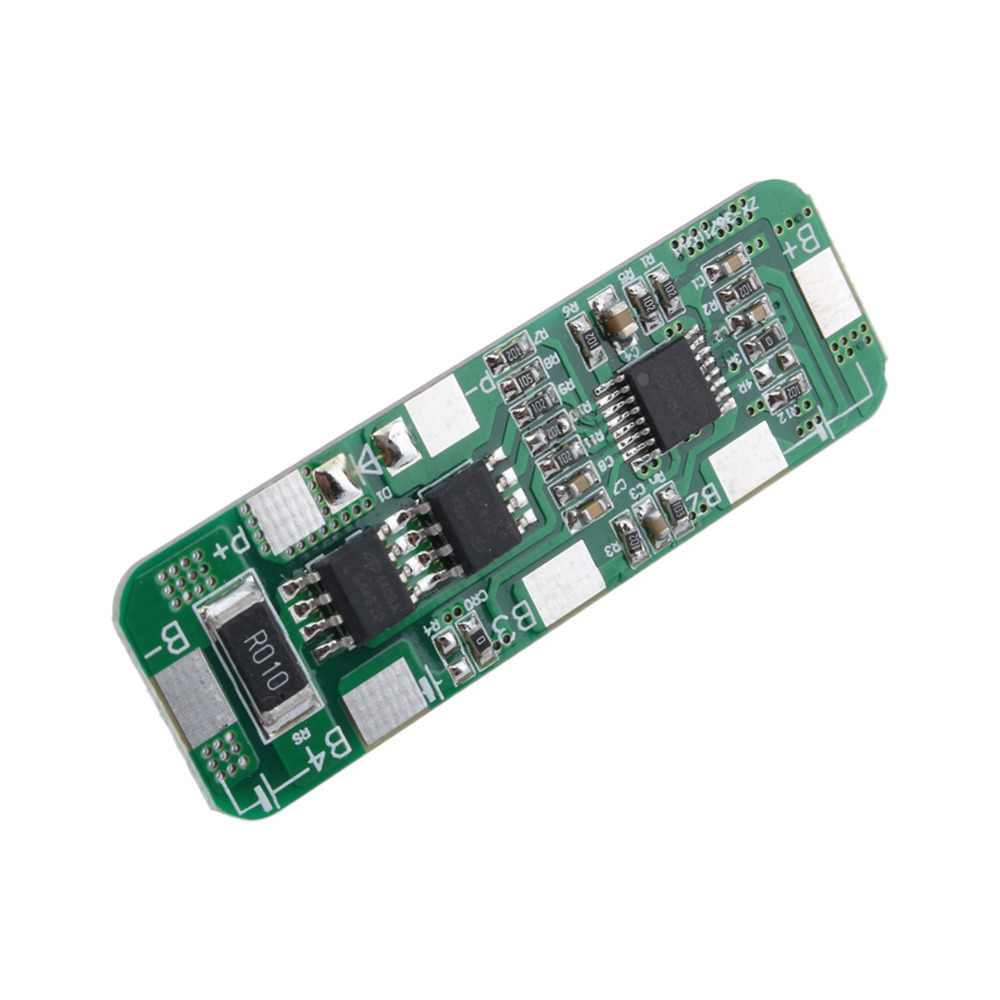 4A-5A PCB BMS Protection Board for 3 Packs 18650 Li-ion lithium Battery Cell 3S 5pcs 2s 7 4v 8 4v 18650 li ion lithium battery charging protection board pcb 89 5mm overcharge short circuit protection