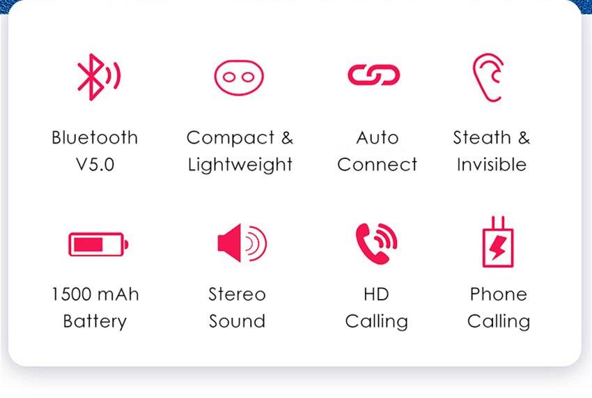 Aimitek Q32 TWS Bluetooth 5.0 Earphones-16