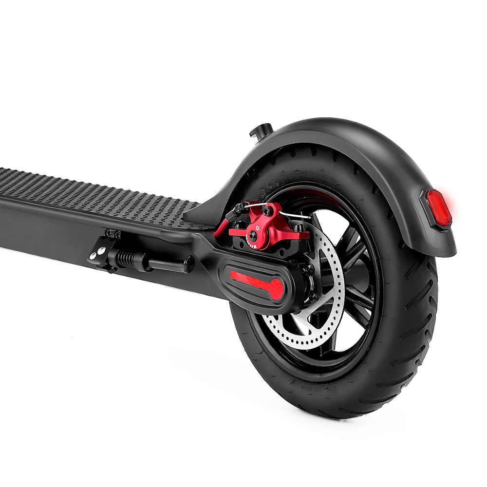 2019 iScooter سكوتر كهربائي E5 6.0Ah 15 كجم و 7.5Ah 20 كجم الذكية للطي الكهربائية لوحة تزلج كبيرة اثنين عجلات الاب دي CN