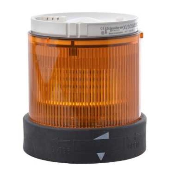 XVBC5B5 Light unit - Flash - Orange - 24 V AC DC