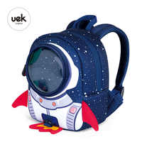 3D Rockets Anti-lost School Bags For Girls Cartoon high-grade Toy Boys Backpack Kindergarten Bags Children's Gifts For Age 1-3