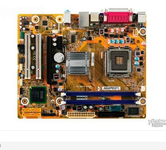 ASUS G41 motherboard DG41CN integrated graphics support dual-core quad-core 775 DDR2 asus ipm31 support ddr2 775 pin integrated motherboard g31 founder haier original machine
