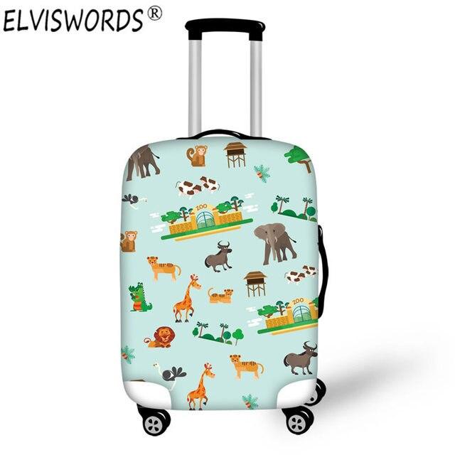 Elviswords Minion Tier Elephant Printing Gepäck Fall Wasserdicht