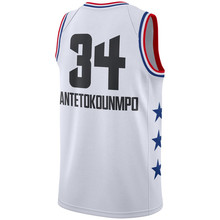 8812f381ad4 New 2019 All Star Games Antetokounmpo white basketball Jersey Custom Name  Stitched(China)