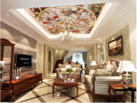 Custom 3D Ceiling Wallpaper European Style Of Ancient Rome Medieval For The Living Room Bedroom Ceiling