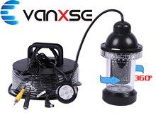 Vanxse Free DHL Shipping Sony CCD 1000TVL HD 18pcs IR Leds  360degree rotative Underwater fishing Finder video Camera