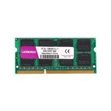 Ноутбук ram DDR3 DDR3L 4 GB 8 GB 2Rx8 1333 MHz 1600 Mhz 1,5 V 1,35 V LAONERDA SO-DIMM памяти для Intel или AMD memoria