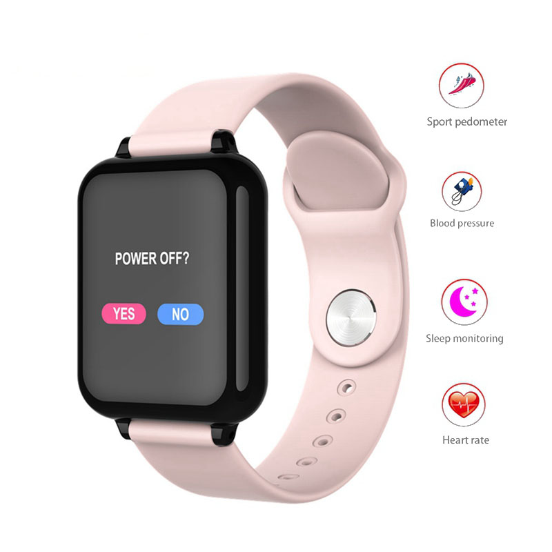 Men Women Fashion Sport Fitness Smart watch Bracelet Heart Rate Monitor Waterproof Blood Pressure SmartWatch For IOS And Android 1