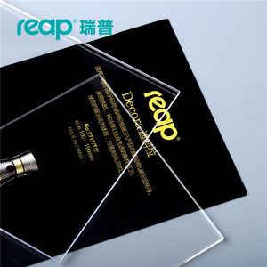 Image 5 - 5 pack Reap Decora PS T shape desk sign holder card display stand table menu service Label drink brand conference meeting