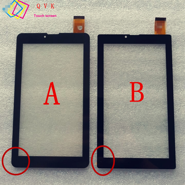 10pcs 7'' capacitive touch screen panel digitizer glass for tablet pc FPC-FC70S706-01 For digma Optima 7.07 3G TT7007MG tablet digma optima 7010d 3g