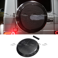 Carbon Fiber Body Kits Spare Wheel Tire Cover for Mercedes Benz W463 G305 G500 G55 G65 2002 2014