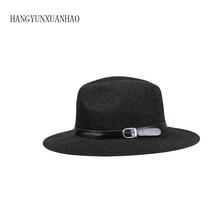 Vintage Panama Women Men Straw Sun Hat Fedora hat Summer Beach Visor Cap Cool Jazz
