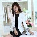 2016 Autumn new Slim small suit jacket women casual short coat fashion ladies suit pink jacket