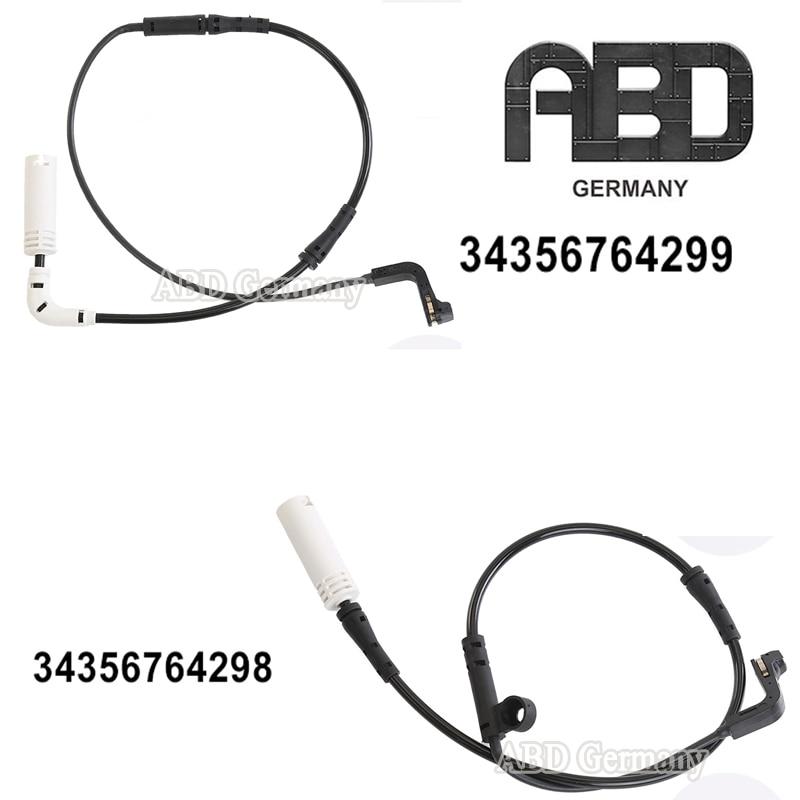 34356764298 Front Brake Pad Wear Sensor for 5 6 Series E60 E61 E63 E64 Aramox Brake Sensor