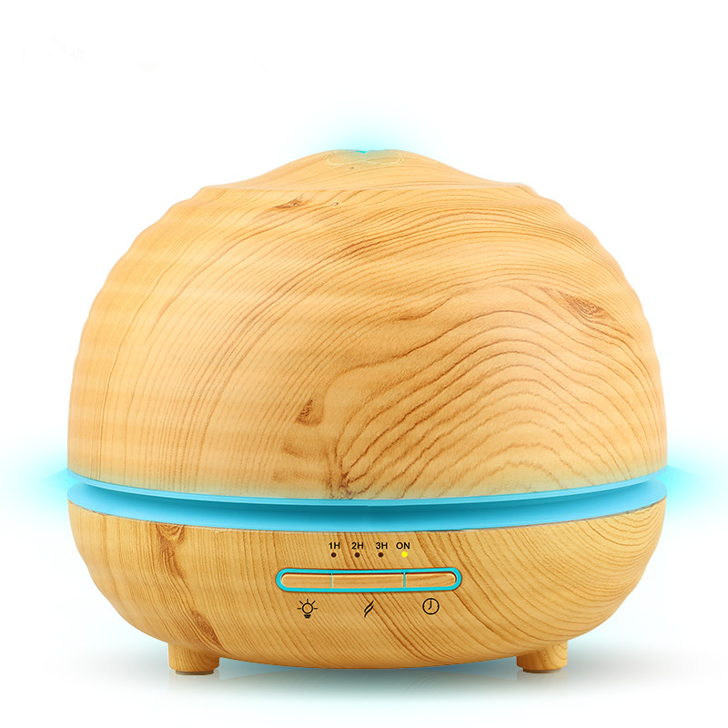 все цены на 300ml Air Humidifier Essential Oil Diffuser Aroma Lamp Aromatherapy Electric Aroma Diffuser Mist Maker for Home-Wood 300ml