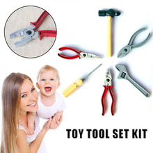 New Innovative Simulation Play House Toys Manual Maintenance Tools 6 Piece Set Random Delivery drop shipping