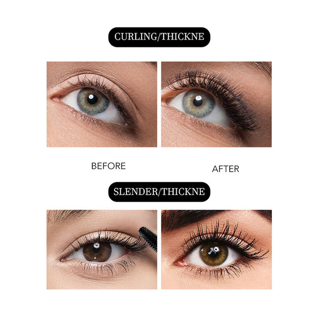 Menow Brand Makeup Curling Thick Mascara Volume Express False Eyelashes Make Up Waterproof Cosmetics Eyes Para Lash Gel Makeup 3