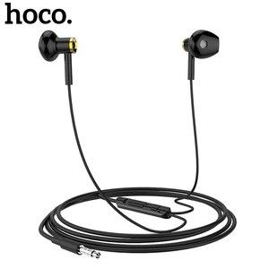 Image 1 - HOCO M47 In Earหูฟังกีฬาชุดหูฟังแบบมีสาย3.5มม.สำหรับiPhone Xiaomi Samsungหูฟังพร้อมไมโครโฟนauriculares